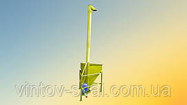 Вертикальный шнековый погрузчик 108 х 4000 мм.