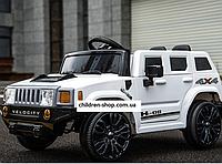 Электромобиль детский Джип Hummer FL 1658 WHITE