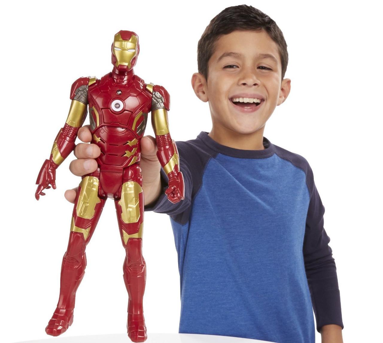 Говорящий Железный человек Марк 43, Титаны - Iron Man Mark 43, Titans, Avengers, Hasbro