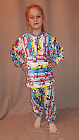 Детская махровая пижама
