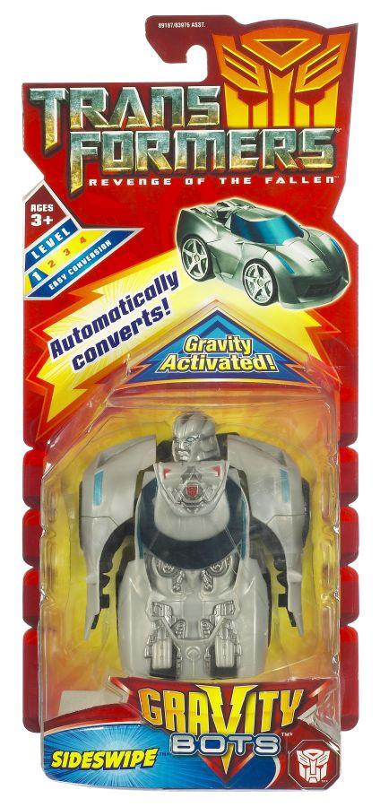 Гравитационные боты, Сайдсвайп - Sideswipe, Gravity Activated Bots,TF2, Hasbro