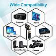 Кабель Promate prolink4k1-500 HDMI - HDMI v.2.0 5 м , фото 2