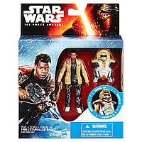 """Набор Финн с броней """"Звездные войны. Эпизод 7: Пробуждение силы"""" - Finn, Starkiller Base, Star Wars, Hasbro"""