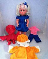 """Кукла """"МІЛАНА"""" с комплектом одежды"""" (45см), осень-зима, в пак. 50*20см"""