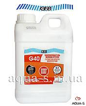 Жидкость для удаления микротрещин GEB G40 (1 л.) для систем отопления (Франция)