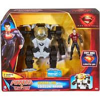 Генерал Зод с бронированным костюмом -  General Zod, Colossal Armor, Mattel, Walmart
