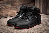 Кожанные мужские зимние ботинки кроссовки Follamen winter