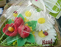 Мыльный набор Букет тюльпанов и ромашки