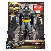 Интерактивная фигурка Бэтмена (звук, свет) - Batman Electro-Armor, Batman v Superman, Mattel, фото 1