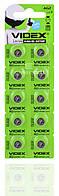 Часовая батарейка Videx AG2 / LR726/ G2/ LR59/ 196/ GP96A/ 396/ SR726W