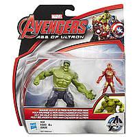 Набор фигурок Халк и Железный человек Savage Hulk and Ultorn Hunter Iron Man
