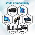 Кабель Promate prolink4k2-300 HDMI - HDMI v.2.0 3 м , фото 4