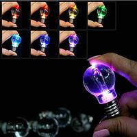 Брелок лампочка (мигаюча), фото 1