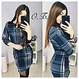Женский стильный костюм: кофта и юбка с молнией (3 цвета), фото 3
