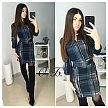 Женский стильный костюм: кофта и юбка с молнией (3 цвета), фото 4