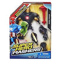 Разборная фигурка Железный Человек в броне №40 - Iron Man, Marvel, Mashers, Hasbro
