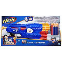 "Игрушечное Оружие Нерф Дуал Страйк - Dual Strike Nerf , ""N-Strike Elite"", Hasbro, фото 1"