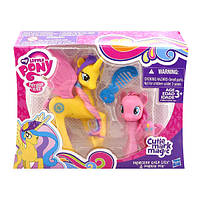Принцесса Голд Лили и Пинки Пай - Princess Gold Lily & Pinkie Pie, My Little Pony, Cutie Mark Magic, Hasbro