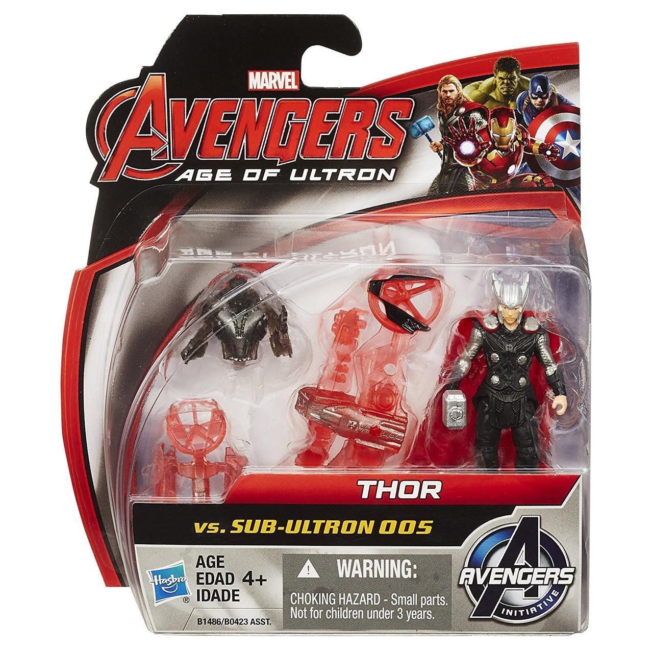 """Игровой набор Тор против Альтрона - Thor vs Sub-Ultron , """"Age of Ultron"""", Hasbro"""