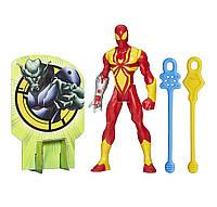 "Фигурка Железного Паука - Iron Spider, Launch Series, ""Web-Warriors"", Ultimate Spider-Man, Hasbro"