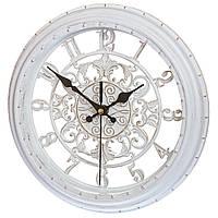 Часы настенные Veronese 28 см 131A/white