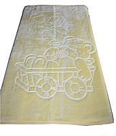Турецкий пледик - одеялко для детей  Golden spring (желтый)