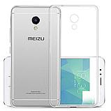 Силиконовый чехол для Meizu M5s прозрачный ультратонкий., фото 3