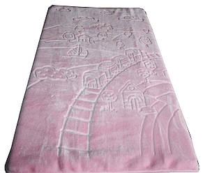 """Турецкий пледик - одеялко для детей  """"Golden spring"""" (розовый), фото 2"""