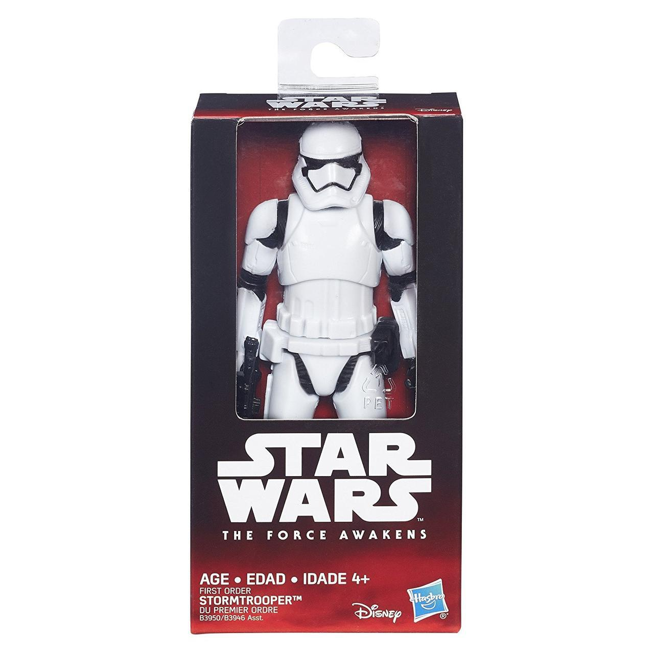 Фигурка первого Штурмовика Ордера, Звездные войны - First Order Stormtrooper, The Force Awakens, Hasbro 15 СМ
