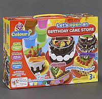 """Тесто для лепки """"Мой торт ко дню рождения"""""""