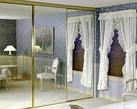 Встроенный зеркальный шкаф купе Киев, корпусная мебель на заказ в Киеве недорого