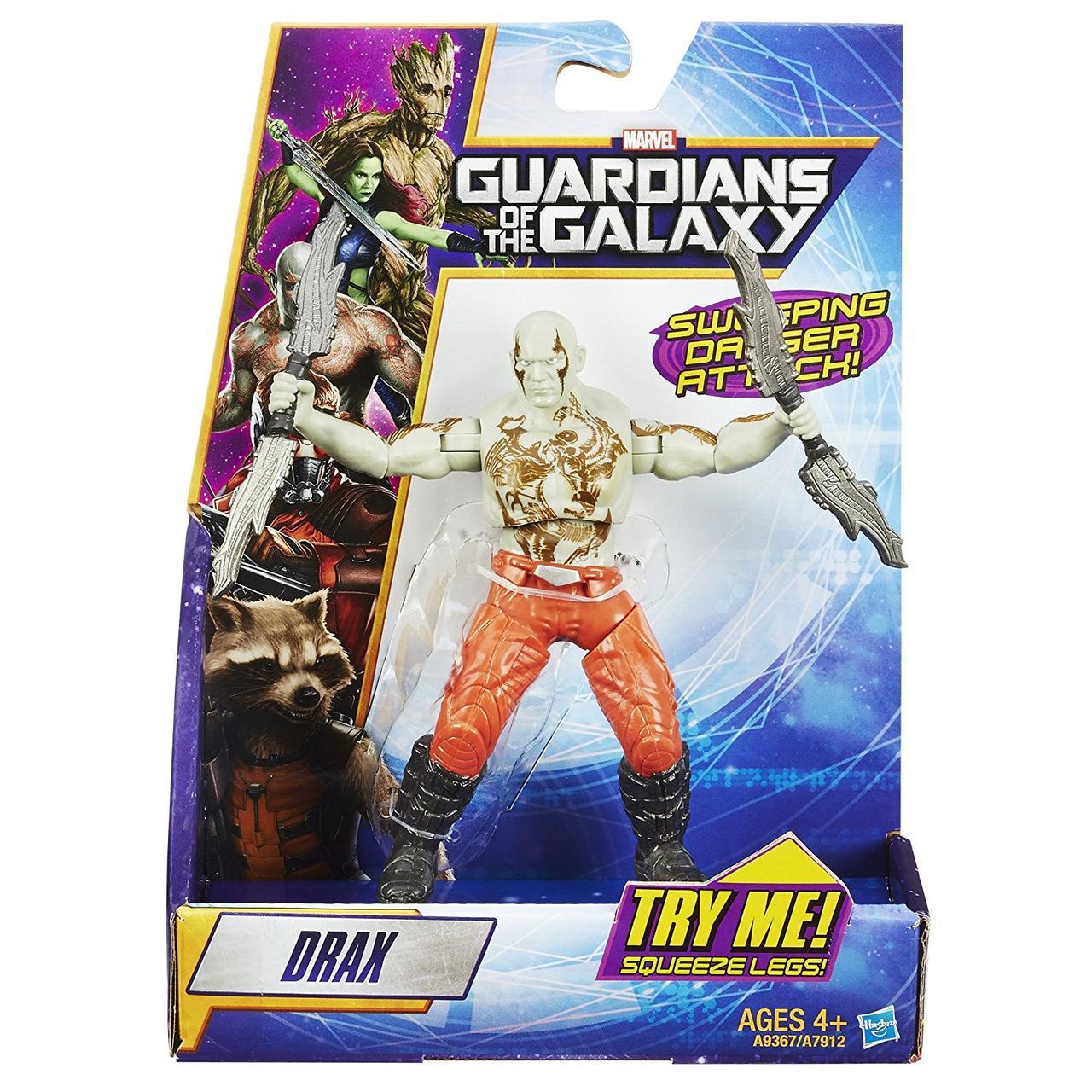 Фигурка Дракса Разрушителя из к\ф Стражи Галактики 21 СМ - Drax, Guardians of The Galaxy, Hasbro