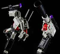 Трансформер-конструктор Мегатрон из м\с Поколения 1 -Walthertron, G1, Masterpiece, KuBianBao, 12СМ