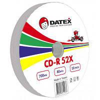 Диск CD DATEX 700MB 52X Bulk 10 pcs (5953821)