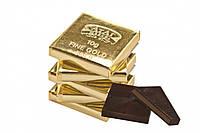 Шоколадные конфеты  10 грамм золота фабрика Атаг