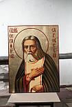 Икона храмовая Преподобного Серафима Саровского, фото 2
