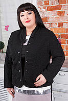 Стильный женский жакет больших размеров