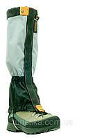 Гетры, гамаши с металлическим тросиком Tracker Professional Snow светло-серый