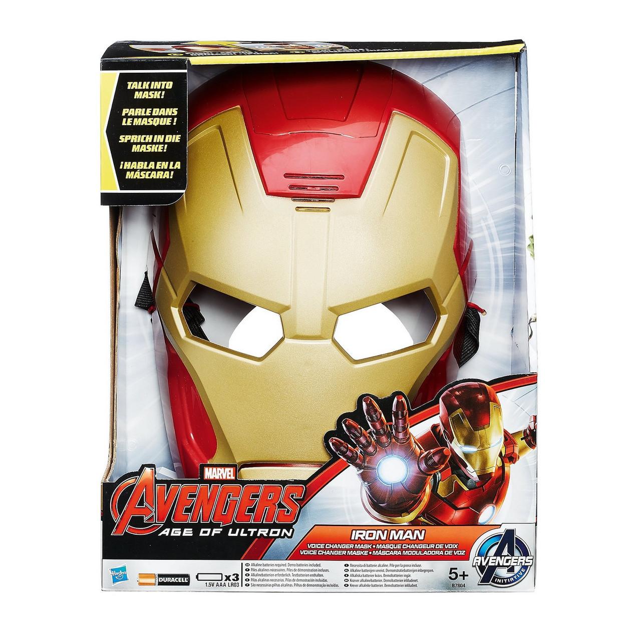 Маска Железного Человека меняющая голос - Voice Changer Mask Iron Man, Age of Ultron, Avengers, Hasbro