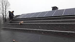 монтаж солнечных панелей Ja solar