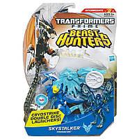 Трансформер Прайм Бист Хантерс Скайсталкер Transformers: Prime Beast Hunters Deluxe Skystalker Hasbro, фото 1