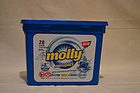 Капсулы для стирки белья Molly mighty pacs 28 шт