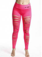 Леггинсы MyAngel Exclusive Cutted Five Pink, фото 1