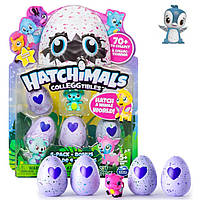 Набор фигурок Hatchimals 4в1+ фигурка Пингвина - CollEGGtibles, Series1, Spin Master (SM19104)