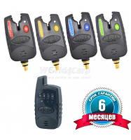 Набор сигнализаторов поклевки FA209-4 (с пейджером 4+1)