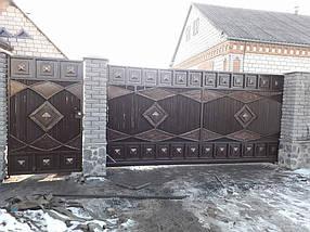 Кованные ворота Лола