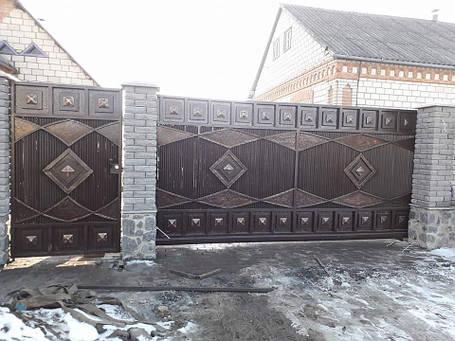 Ковані ворота Лола, фото 2
