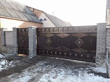 Кованные ворота Лола, фото 2