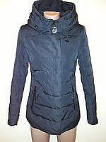 Женская демисезонная куртка синяя 18-08, фото 1