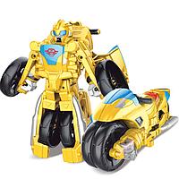 Бамблби-мотоцикл, трансформеры Боты-спасатели 11 см, Rescue Bots